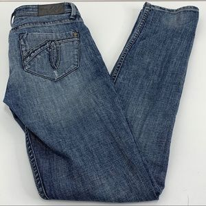 Level 99 Blue Jeans skinny tall